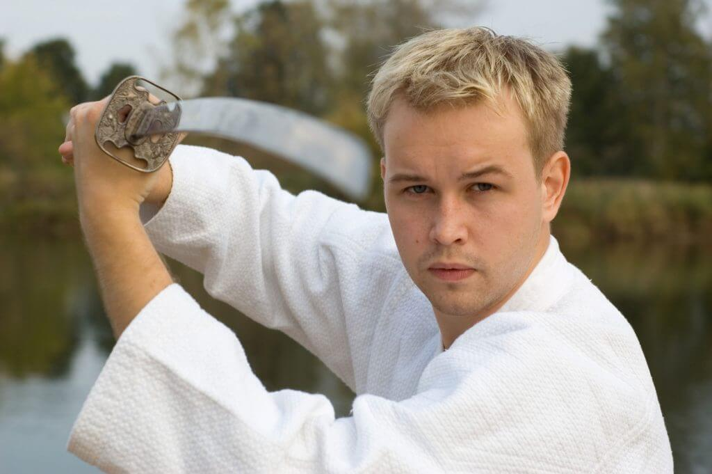 Martial Arts Lessons for Adults in Hillsborough NJ - Samurai Sword Posing Blog