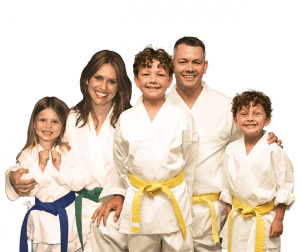 Martial Arts Lessons for Families in Hillsborough NJ - Group Family for Martial Arts Footer Banner