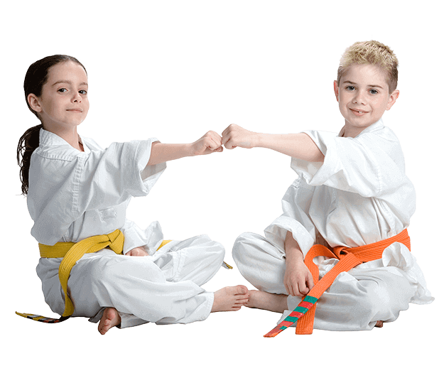 Martial Arts Lessons for Kids in Hillsborough NJ - Kids Greeting Happy Footer Banner