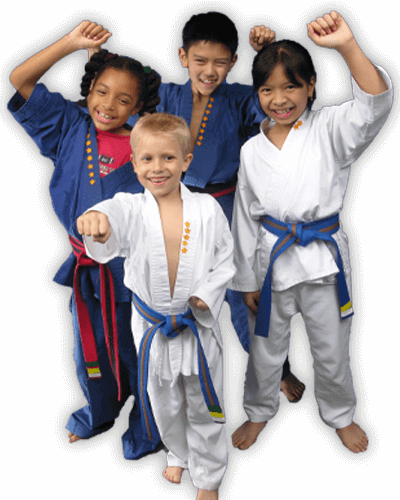 Martial Arts Summer Camp for Kids in Hillsborough NJ - Happy Group of Kids Banner Summer Camp Page