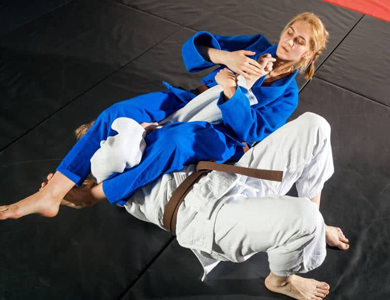 Brazilian Jiu Jitsu Lessons for Adults in Hillsborough NJ - Arm Bar Women BJJ