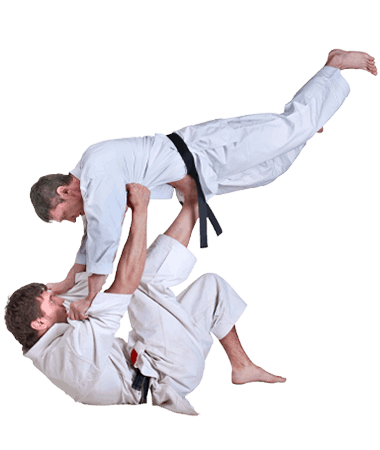 Brazilian Jiu Jitsu Lessons for Adults in Hillsborough NJ - BJJ Floor Throw Men