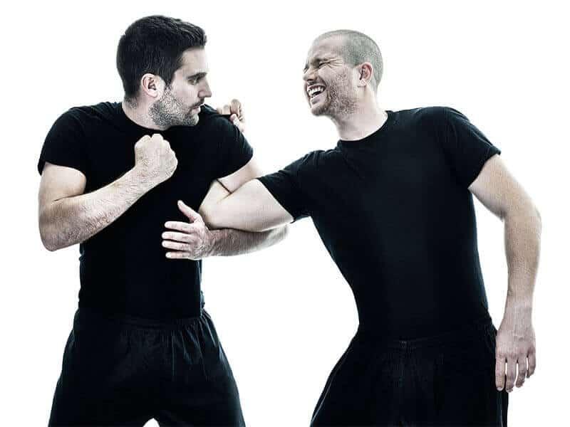 Self-Defense Program for Adults in Hillsborough NJ - Arm Bar Defense Men
